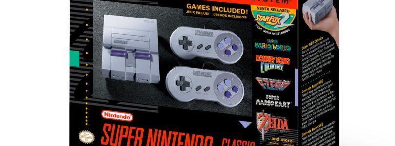 SNES Classic Edition annunciata da Nintendo – data di rilascio