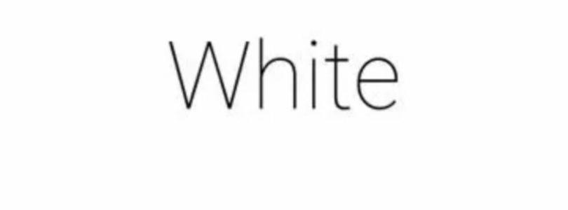 White – Una app da €349,99