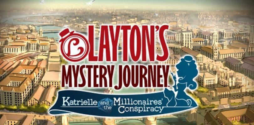 Annunciata data d'uscita per il gioco Layton's Mystery Journey