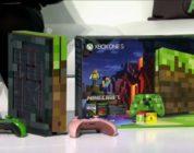 Console Xbox One S di Minecraft Rivelata durante la conferenza di Microsoft al Gamescom 2017