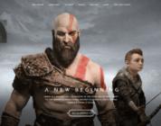 Sito di God of War aggiornato al nuovo Design