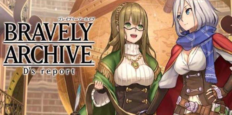 Interrotto il gioco per smartphone Bravely Archive D's Report