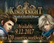KING'S KNIGHT –WRATH OF THE DARK DRAGON – È ORA DISPONIBILE SU DISPOSITIVI MOBILE