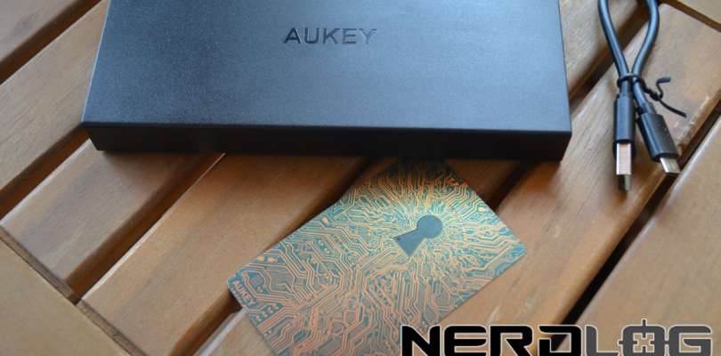 Power Bank Aukey PB-3T – 16 A di potenza con la tecnologia Quick Charge 2.0