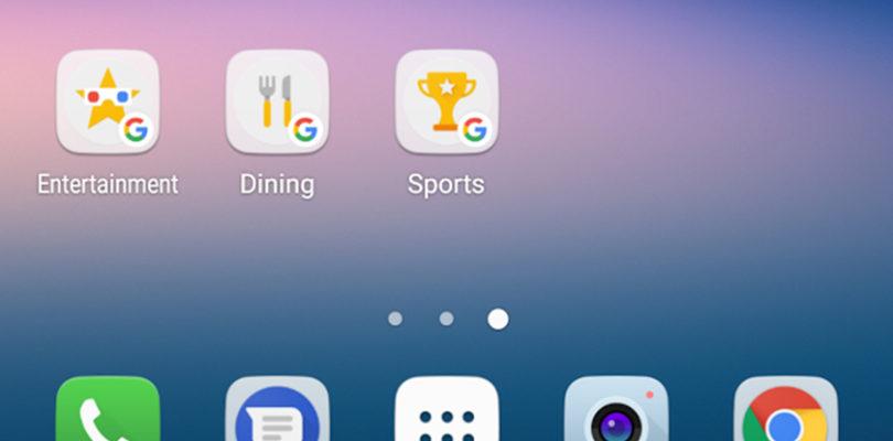 L'applicazione Google consente ora di inserire alcune categorie nella schermata iniziale