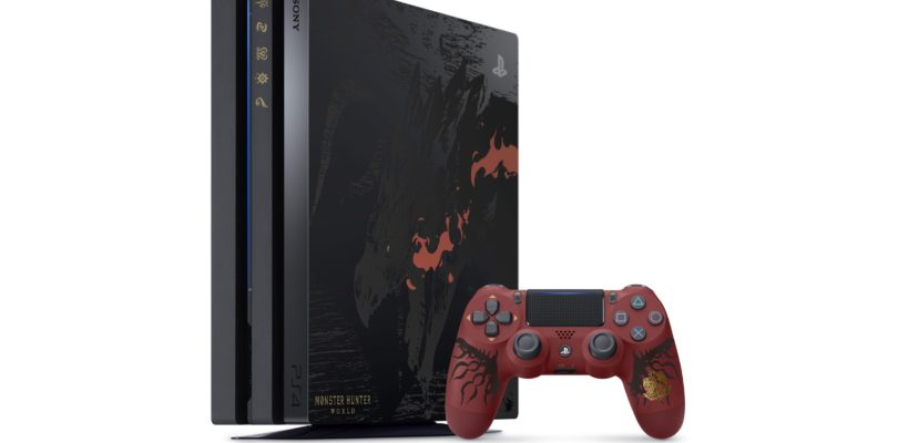 "Monster Hunter World's PS4 Pro ""Rathalos Edition"" – Immagini ufficiali"