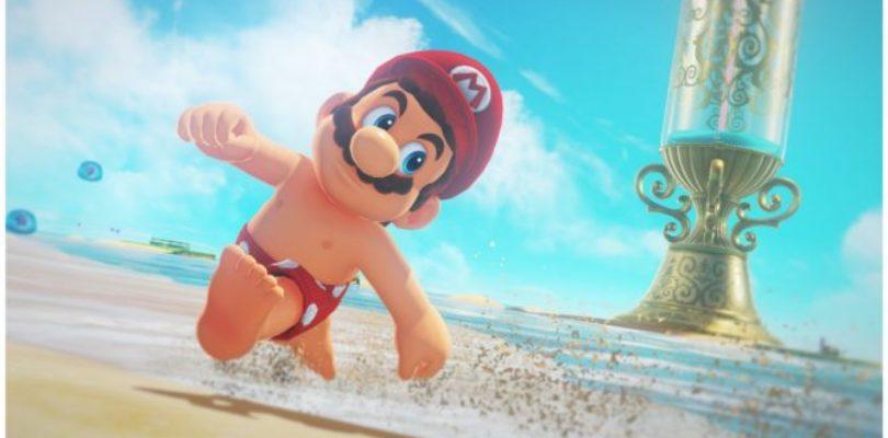 Mario in azione nel nuovo gameplay di Super Mario Odyssey