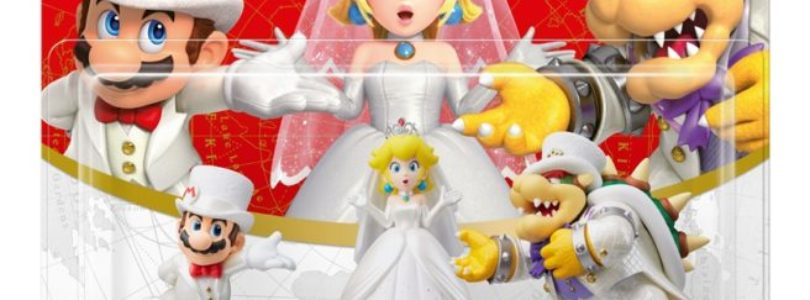 Super Mario Odyssey – Confezione con 3 Amibo rivelati