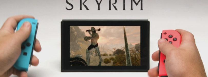 The Elder Scrolls V: Skyrim – 10 minuti di gameplay su Nintendo Switch