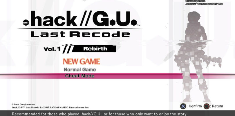 """.hack//G.U. Last Recode – """"Rebirth"""" Trailer per gli scenari"""