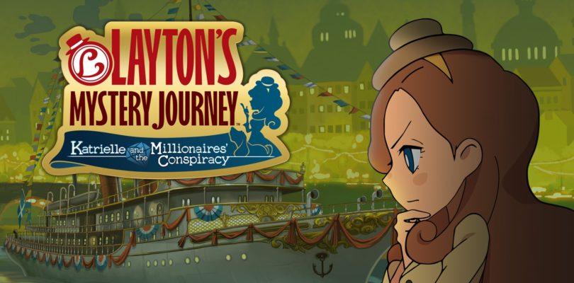 Layton's Mystery Journey – Trailer per il gioco per 3DS