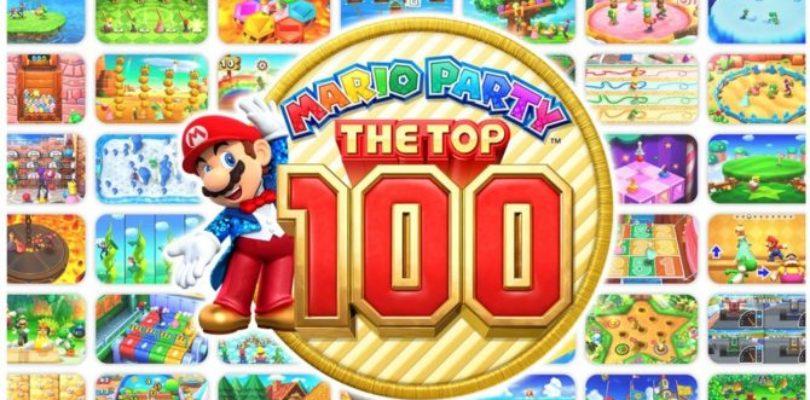 Mario Party: The Top 100 ha 3 modalità e amiibo disponibili