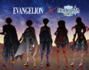 Hortensia Saga in collaborazione con Evangelion