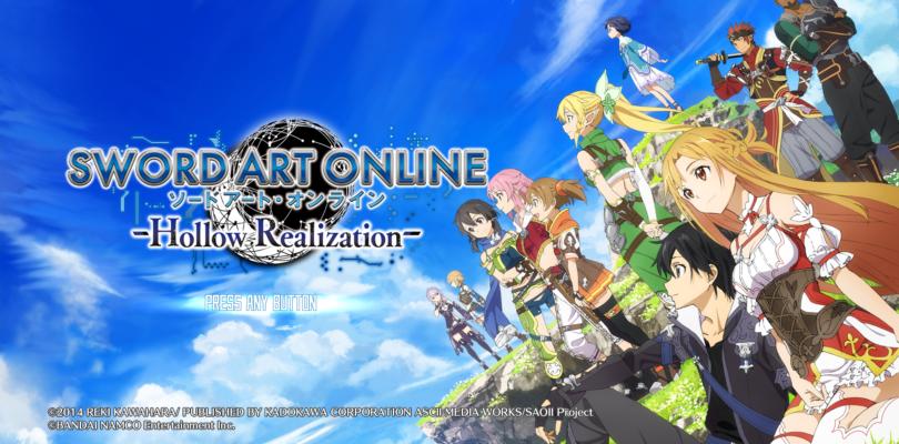 Sword Art Online: Hollow Realization trailer di lancio per la versione pc pubblicato