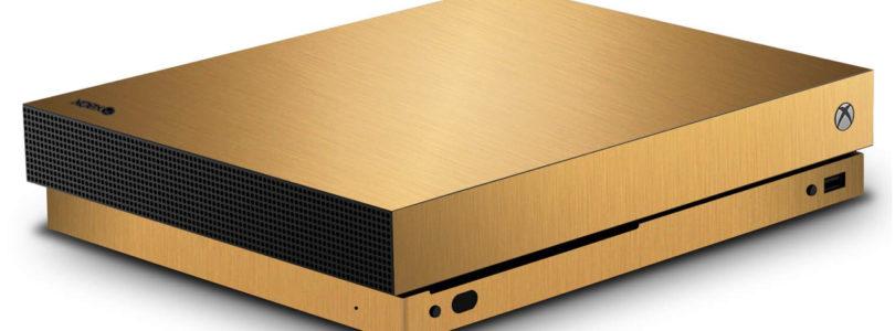 Giveaway – Xbox One X in oro da 24 carati