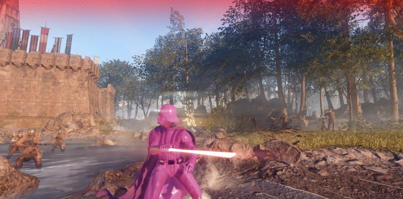 Ora potete giocare nei panni di Pink Darth Vader in Star Wars Battlefront 2