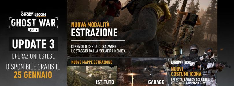 Ghost Recon Wildlands: Terzo aggiornamento Ghost War PVP – Operazioni Estese