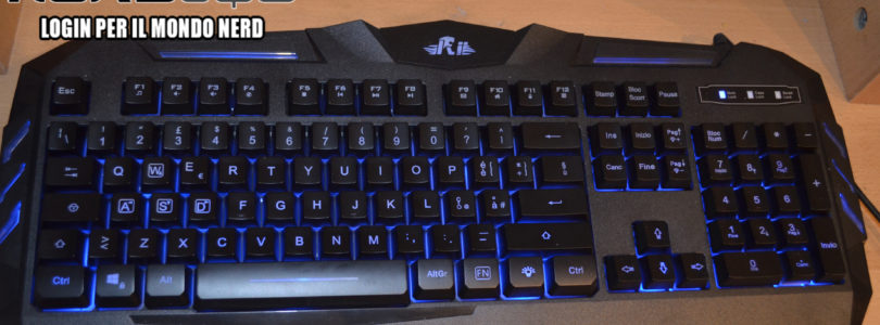 [RECENSIONE] Tastiera da Gaming Meccanica – Rii Gaming RK900