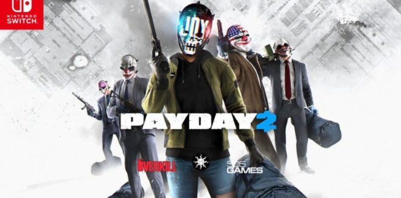 Payday 2 in arrivo su Nintendo Switch insieme alla data di uscita