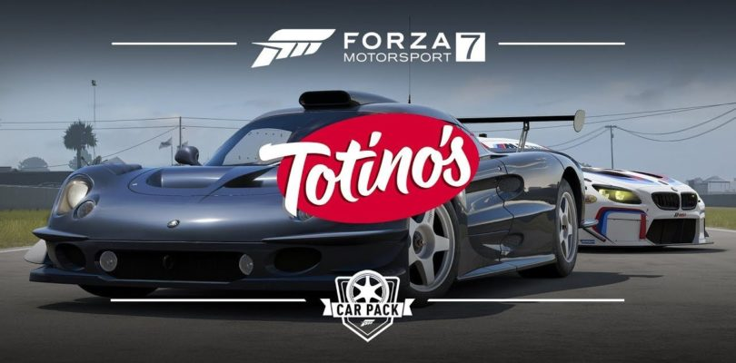 Forza Motorsport 7: Nuova DLC Totino's Car Pack e Patch.