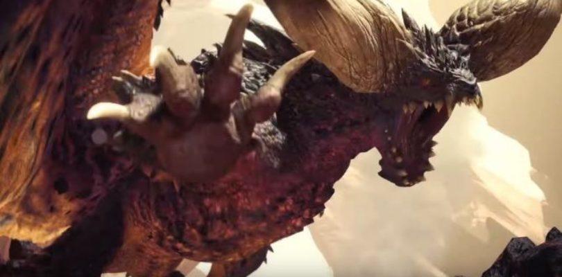 Tutte le info date durante la livestream 2018 di Monster Hunter World