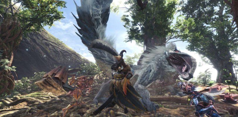 Monster Hunter World – Patch al Day One dettagliata con screenshot e dimensioni