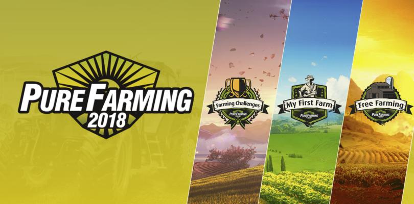Mostrate 3 differenti modalità di coltivazione nel nuovo trailer di Pure Farming 2018