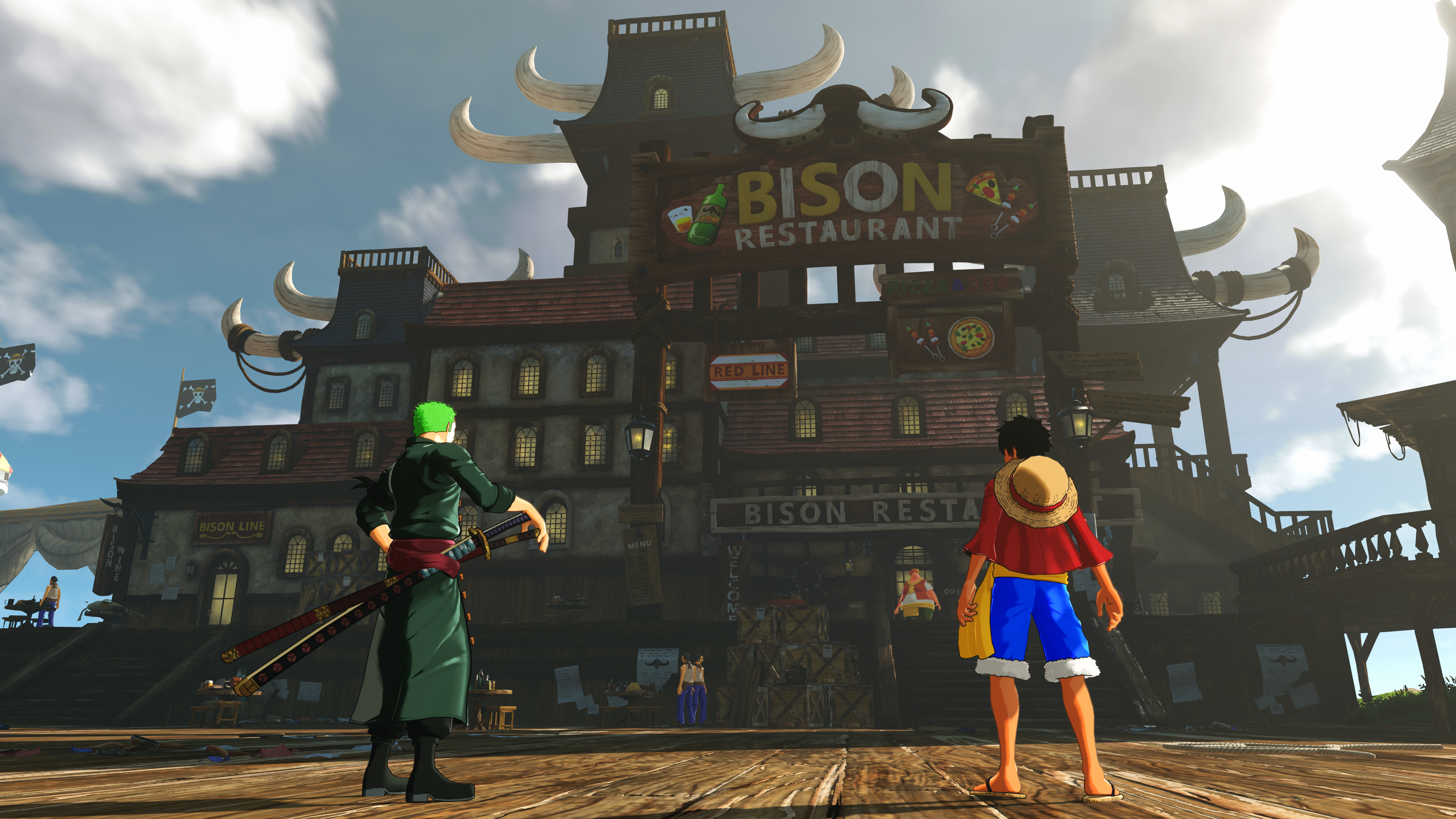 One Piece: World Seeker mostra l\'Open World e Luffy in nuove ...