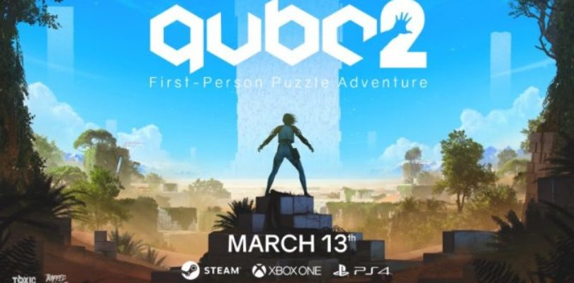 QUBE 2 – Finalmente rivelata la data di uscita su PlayStation 4, Xbox One e PC