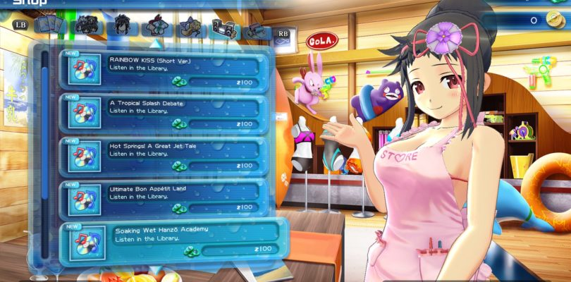 Senran Kagura Peach Beach Splash annunciato per PC