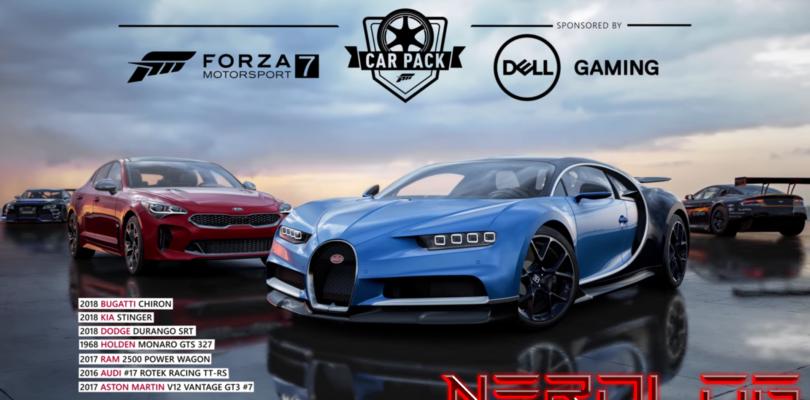 Forza Motorsport 7 – Mega aggiornamento & patch notes di febbraio e Dell Gaming DLC Pack!