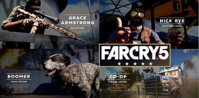 Far Cry 5 ottiene nuovi trailer sfoggiando potenziali membri della resistenza