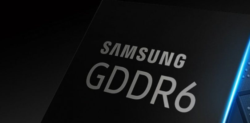 Samsung Electronics inizia la produrre del primo GDDR6 a 16-Gigabit per sistemi grafici avanzati.