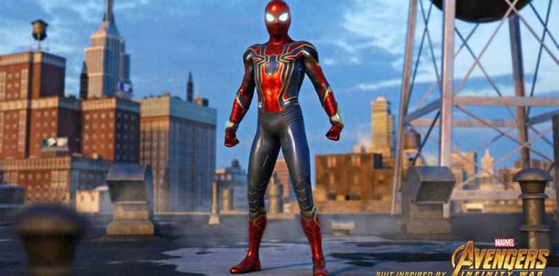 Tuta Iron Spider di Marvel's Spider-Man ufficialmente rivelata nel nuovo trailer