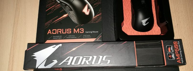[RECENSIONE] Gigabyte Aorus M3 Gaming Mouse + AMP 500