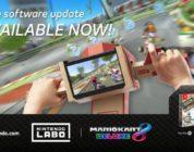 [NEWS] Mario Kart 8 Deluxe ottiene un nuovo aggiornamento per il supporto Nintendo Labo