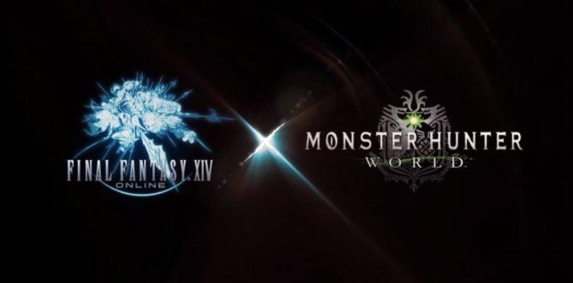 [E3 2018]Final Fantasy XIV x Monster Hunter World debutta all'E3 2018 di Square Enix