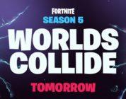 """[NEWS] L'immagine del teaser della stagione 5 di Fortnite dice """"I mondi si scontrano"""" domani"""