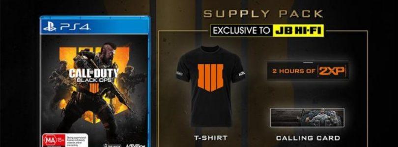 Call of Duty: Black Ops 4 Supply Pack Edition Annunciata per l'Australia