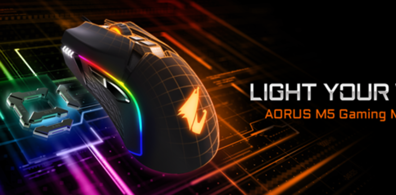 [NEWS] GIGABYTE Rilascia AORUS M5 Gaming Mouse