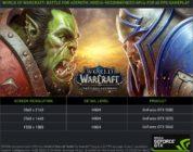 [NEWS] Nuovi driver game ready per World of Warcraft: Battle for Azeroth da NVIDIA