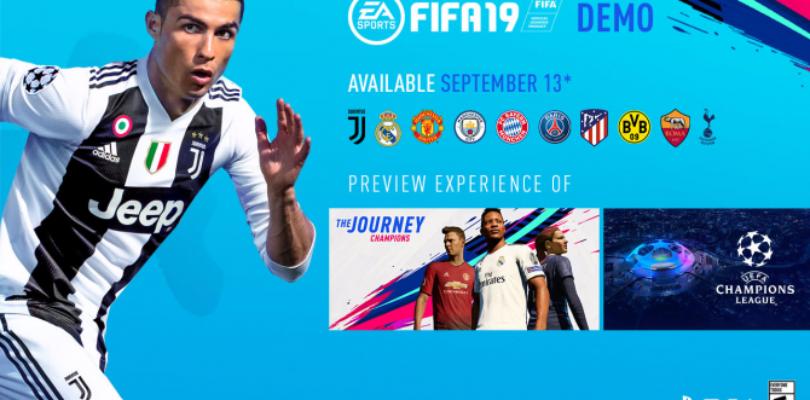 [NEWS] Svelata la data di rilascio per la Demo di FIFA 19