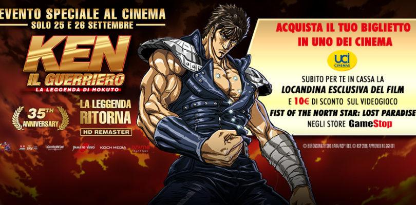 [NEWS] Ken il Guerriero con UCI Cinema per il 35° anniversario