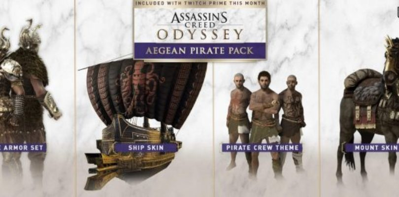 [NEWS] Assassin's Creed Odyssey offre Loot gratuito per i membri di Twitch Prime