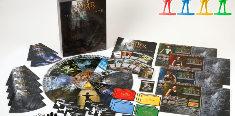 [NEWS] TOMB RAIDER LEGENDS: THE BOARD GAME IN ARRIVO A FEBBRAIO 2019