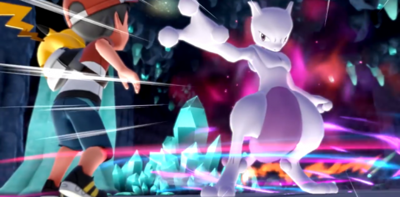 [NEWS] Pokemon Let's Go, Pikachu! e Eevee – Nuovo trailer mostra Mewtwo