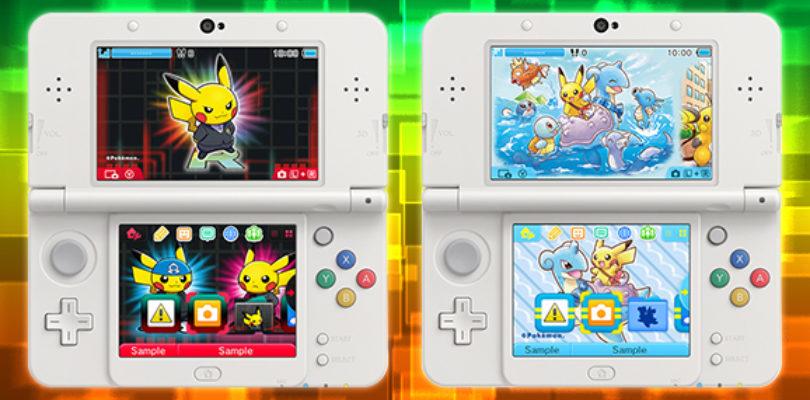[News] Nintendo – Pikachu è il protagonista di due nuovi temi per 3DS