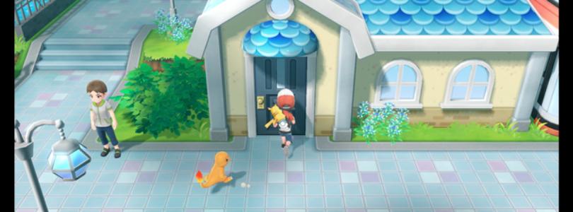 Pokemon let's go starter