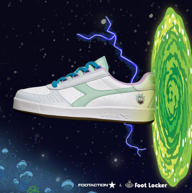 Rick e morty scarpe