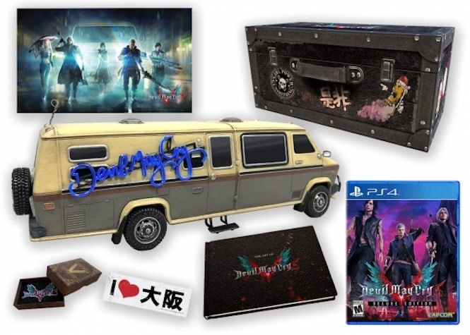 Collector Edition Devil may cry 5